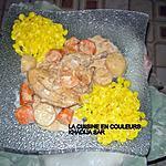 recette Poulet au lait de coco /Petits paniers