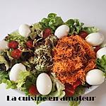 recette Salade composée: courgettes...