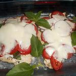 recette Escalope de dinde,tomates mozzarella