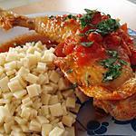 recette Poulet à la méditerranéenne