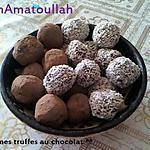 recette truffes aux chocolat