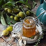 recette Confiture de mirabelle et thym du jardin