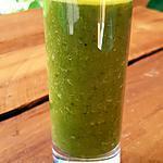 recette Soupe de branches de brocoli au pois cassés