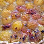 recette tarte aux prunes jaune
