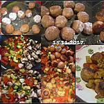 recette Boulettes de viandes aux légumes printanier.