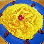 recette Omelette moutarde safrané.