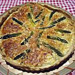 recette Tarte aux jambon.asperges.