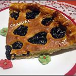 recette Tarte Amandine aux pruneaux.