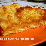 recette Gâteau de noix de coco aux abricots
