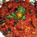 recette Aubergines à la marocaine (Zaalouk)