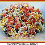 recette Salade d'orzo et haricots noirs
