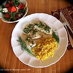 recette Filets d'aiglefin au pesto d'aneth +