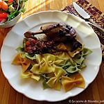 recette Cuisses de canard braisées à l'italienne, version 3 +
