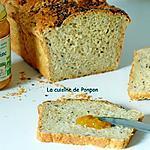 recette Pain au lait, aux graines de lin et linette, sans beurre