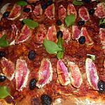 recette Pizza aux filets de rougets