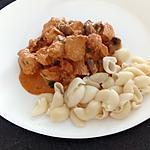 recette poulet stroganoff