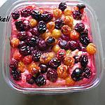 recette Clafoutis aux prunes bicolores
