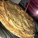 recette Crêpes a la farine de châtaigne