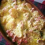recette pommes de terre à la béchamel