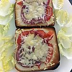 recette croque tomate bacon