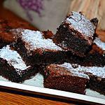 recette Carrés fondants au chocolat