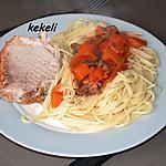 recette Rôti de porc à la sauce tomate au cookéo