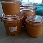 recette Compote de pommes en bocaux