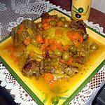 recette Tadjine aux olives