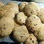 recette Cookies aux pépites de chocolat