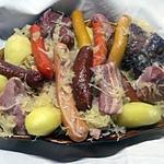 recette Choucroute Alsacienne maison.