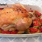 recette Poulet aux légumes