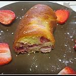 recette Gâteau yaourt aux fraises.