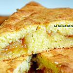 recette Gâteau moelleux à la confiture de mirabelle, aux blancs d'oeufs