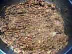 Pâtes Conchiglioni farcies gratinées. Hachis_de_courgettes_gratin_es_004