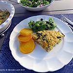 recette Tarte sans croûte au poisson +
