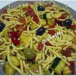 recette Spaetzle aux légumes.jambon.