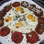 recette Oeufs et tomates à la Provençale.