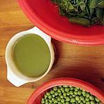 recette Soupe de cosses de petits pois
