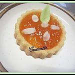 recette Tartelettes à la confiture aux abricots allégées.