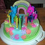 recette Gâteau d'anniversaire pour les 6 ans de Juliette