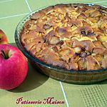 recette Tarte aux pommes caramelisees