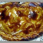 recette Chausson aux pommes et rhubarbe.
