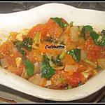 recette Sauce tomates & basilic.