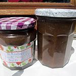 recette Confiture rhubarbe.fruits confits.
