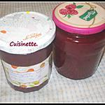 recette confiture fraises,rhubarbe.