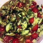 recette Salade de concombre pimentée (version rapide)