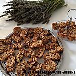 recette Mini barres aux céréales fruits rouges