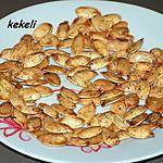 recette Graines de potiron séchée