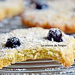 recette Cookies aux flocons d'avoine, huile de noix de coco et cassis Peureux, sans beurre