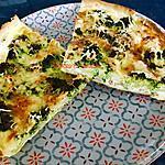 recette Quiche au brocoli